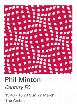 Phil Minton: Century FC, Sun 22 March, 15:40-16:20, The Arches